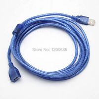 High quality 10FT 3M USB 2.0 Male To Female Extension Cable Line