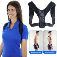 YOSYO Brace Support Belt Adjustable Posture Corrector Clavicle Spine Back Shoulder
