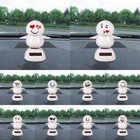 CARPRIE Solar Powered Dancing Animal Swinging Dancer Car Decoration Emoji Memes