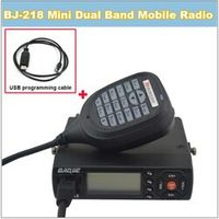 HIROYASU BJ218 BJ 218 BAOJIE BJ-218 136-174/400-470MHz Dual band Mini mobile Radio