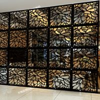 29*29CM Plans customize Wooden Divider for the Room 6PCS