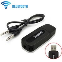 ANBES AUX Wireless Portable Mini Music Receiver Stereo Audio for iPhone Car Bluetooth