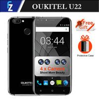 "Four Oukitel U22 Mobile 3G Smartphone 5.5"" Android 7.0 2700mAh FHD MTK6580 Quad Core"