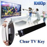 Rondaful Digital TV Antenna Clear Key HDTV TV Stick Satellite Indoor Receiver