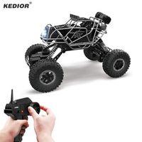 kedior 2.4G 4CH RC Car 4WD Rock Crawlers Climbing 4x4