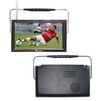 Greatpeak 12v LED portable digital dvb t2 tv mpeg4 battery powered rechargable
