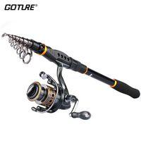 Goture Combo GTV Spinning Reel 2000-4000 Series Sword Fishing Rod