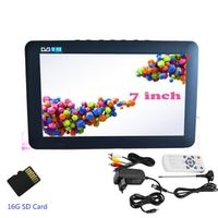 LEADSTAR 7 Inch Portable Digital HD 16G Analog Television support TF Card USB