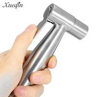 Xueqin Bathroom Hand Held Toilet Bidet Sprayer Washing Shower Head Flusher Flushing Clean Bidets Stainless Steel