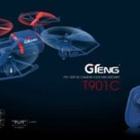 GTeng T901C Spiders Drone 720P HD Camera 4CH 6 Axis Gyro Headless RC Helicopter with One Key Return RC Quadcopter RTF