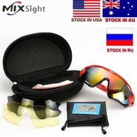 MIXSIGHT ZK40 UV400 Bicycle Frame Polarized Eyewear Cycling Glasses Bike Sunglasses