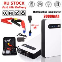 Portable Starting Device 20000mAh Car Jump Starter Emergency 12V Car Charger For Car Battery Booster Buster Mini Power Bank LED