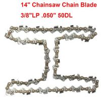 "MTGATHER 14"" Chainsaw Chain Blade 3/8""LP Blade Quickly Cut Wood For Stihl 009 010 017 019 023 MS170 MS180 New Arrival"