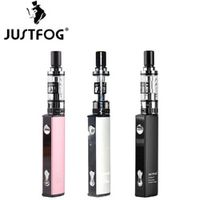 Justfog Q16 Starter Kit Pink 900mAh Variable Voltage J-Easy 9 Battery 2ml 510 / eGo Thread Clearomizer 1.6ohm OCC Coil
