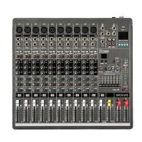 New YA1000 USB 10 Channels Mixing Console Equipment Professional Audio DJ Mixer
