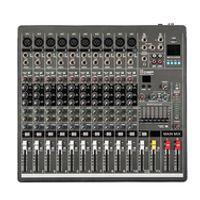 New YA1000 USB 10 Channels Mixing Console Equipment Professional Audio DJ Mixer