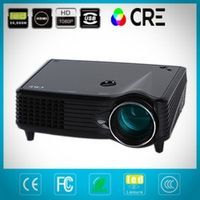 CRE China Supplier Full HD 1080p LED Projector Mini Size Pocket Home Theater