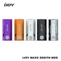 100% Original IJOY MAXO ZENITH MOD Vape Mod  IJOY Strong Output 18650 Box Mod with Classic and A Capable Chipset