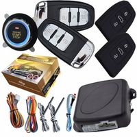 cardot PKE car alarm system with ignition feature remote engine start stop auto