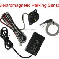 Siquoie Electromagnetic parking sensor no drill hole Car Reverse Backup Rada