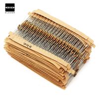 ELDOER 1500pcs 1/4W Power Carbon Film Resistors Assorted