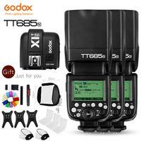 Godox 3x TT685N 2.4G HSS i-TTL GN60 Wireless Flash X1T-N TTL Trigger for Nikon D800