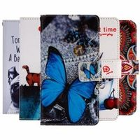 "GUCOON Cartoon Wallet Case for BQ BQS-5070 Magic 5070 5.0"" PU Leather Lovely Cover"