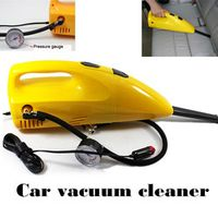 wholesale 90w With Air Pump  2 IN 1 Inflator Air Compressor Portable Handheld Mini  Car vacuum cleaner