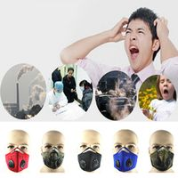 YOVIP Cycling Bicycle Motorcycle Riding Filter Thermal Windproof Face Mask Outdoor