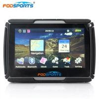 Fodsports 4.3inch car HD Bluetooth 8GB 256MB waterproof IPX7 anti shock motorcycle