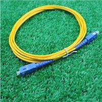 10pcs/lot SC-SC single core fiber jumper fiber optic cable 3 meters SC pigtail Optical fiber connecting tool