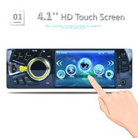CARKUCO 4.1 Inch 1 Din MP5 Player Audio Stereo Bluetooth USB AUX-IN FM Station OLED