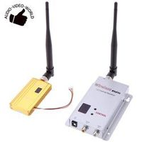 UNIC 1500mW 1.2G Wireless 8CH Transmitter 12CH Receiver Digital Camera VCD/DVD
