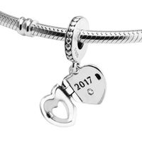 Fits for Pandora Charms Bracelets 2017 Club Beads 100% 925 Sterling-Silver-Jewelry Free Shipping