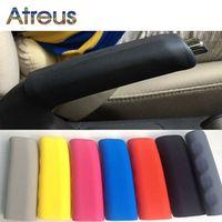 Atreus Atreus1pcs Silicone non-slip car hand brake Cover for Hyundai I30 IX35 Nissan