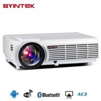 byintek Android OS wifi 1280x800 smart game BT96 bluetooth Home Theater LED Projector