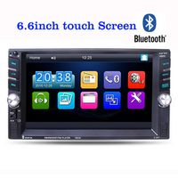 Light heart 6.6 inch Car MP3 MP5 FM Player Auto Audio TFT Touch screen 2 Din in Dash