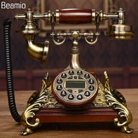 New High-end Vintage Antique Telephones European Telephone Landline Telephone RetroTelephone Telefono Fijo For Home Office