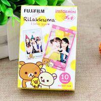 High qulaity Fujifilm Instax Mini Instant Color Film Rilakkuma 10pcs for polaroid 7s