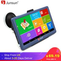 Junsun 7 inch Car GPS Navigation Android Bluetooth WIFI Truck Vehicle auto