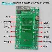 Android phone Professional Battery Activation Charge PCB Board with USB Cable for VIVO OPPO MEIZU Samsung xiaomi Circuit Tester
