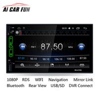 """Ai CAR FUN RK-A705 Android 6.0 7"""" Capacitive Touch Screen DVD Player Built-in Wifi"""