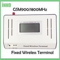 GSM900/1800MHZ Fixed Wireless Terminals LED/LCD Display Connecting Desktop Phone, Stable Signal