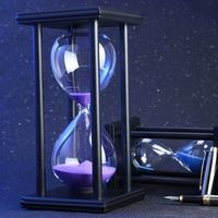 BigBen 60 Minutes Hourglass For Kitchen School Modern