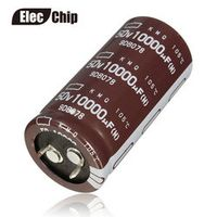 Elec Chip 2pcs 10000uF 50V NIPPON NCC KMQ Series 25.4x50mm 50V10000uF PSU/AUDIO