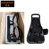 GIGERTOP Handheld CO2 Jet Special Effects Cannon with 1pcs Carbon Dioxide Tank Back