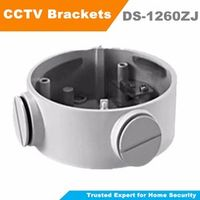 Wall Mount bracket DS-1260ZJ CCTV Accessories Junction Box Suit For DS-2CD2632F-IS  DS-2CD2642FWD-IS Bullet Camera CCTV Bracket