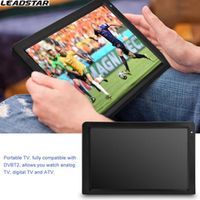 LEADSTAR DVB-T-T2 12.1 Inches Rechargeable Digital Color TV Television Player TFT-LED