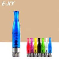E-XY H2 Atomizer Clearomizer no wick Rainbow color, replace ce4 atomizer Compatible with ego t 510 battery