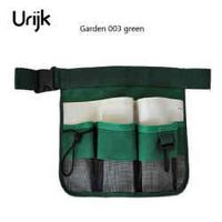 Urijk 1pc New High Quality Green Black  600D Oxford Cloth Reflective Tape Garden Tools Belt Cleaning Bag Tool Bag 24cmx34cm